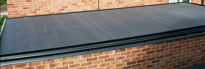 Re-roofing in EPDM rubber