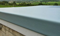 GRP roofing materials